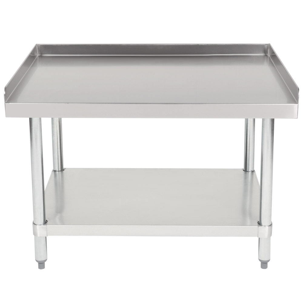 "Hakka 30""x36"" Commercial Stainless Steel Equipment Stand with Undershelf, NSF Certified"