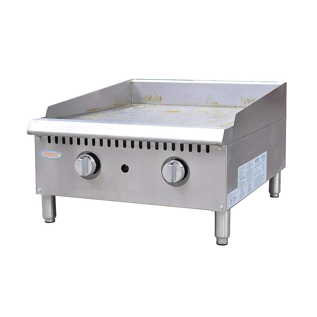 "Hakka Heavy Duty Commercial 48"" Countertop Gas Thermostat Griddles"