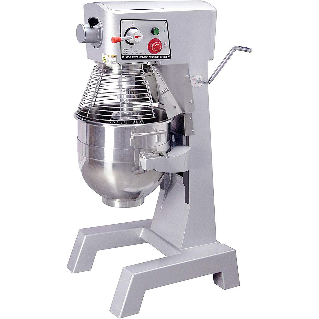 Hakka 30 Quart Commercial Planetary Mixers 3 Funtion Stainless Steel Food Mixers