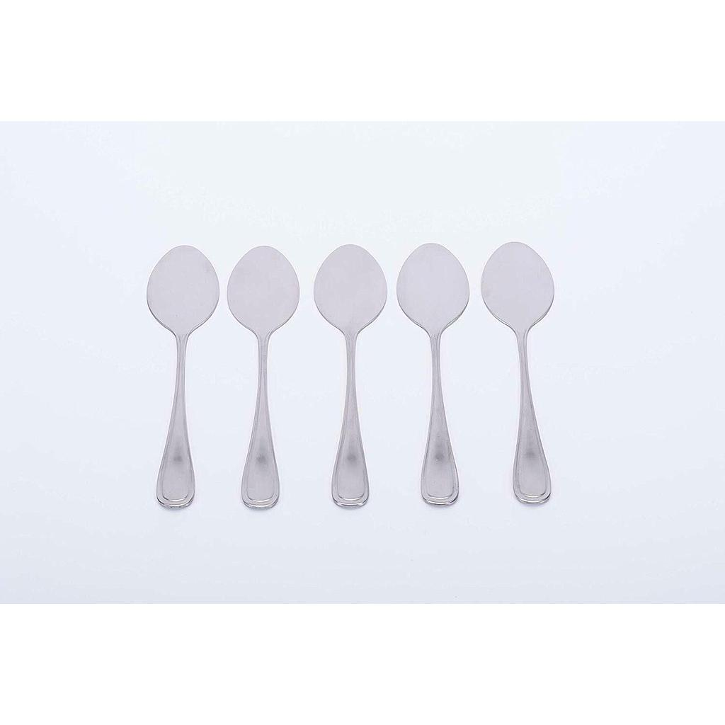 5 Pcs Stainless Steel Flat Spoon Spreader