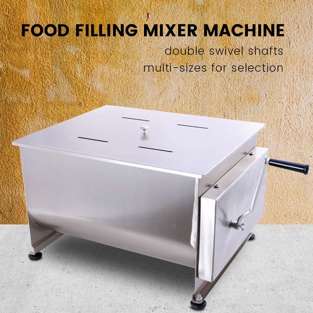 Hakka 30 Liter Double Axis Manual Meat Mixer