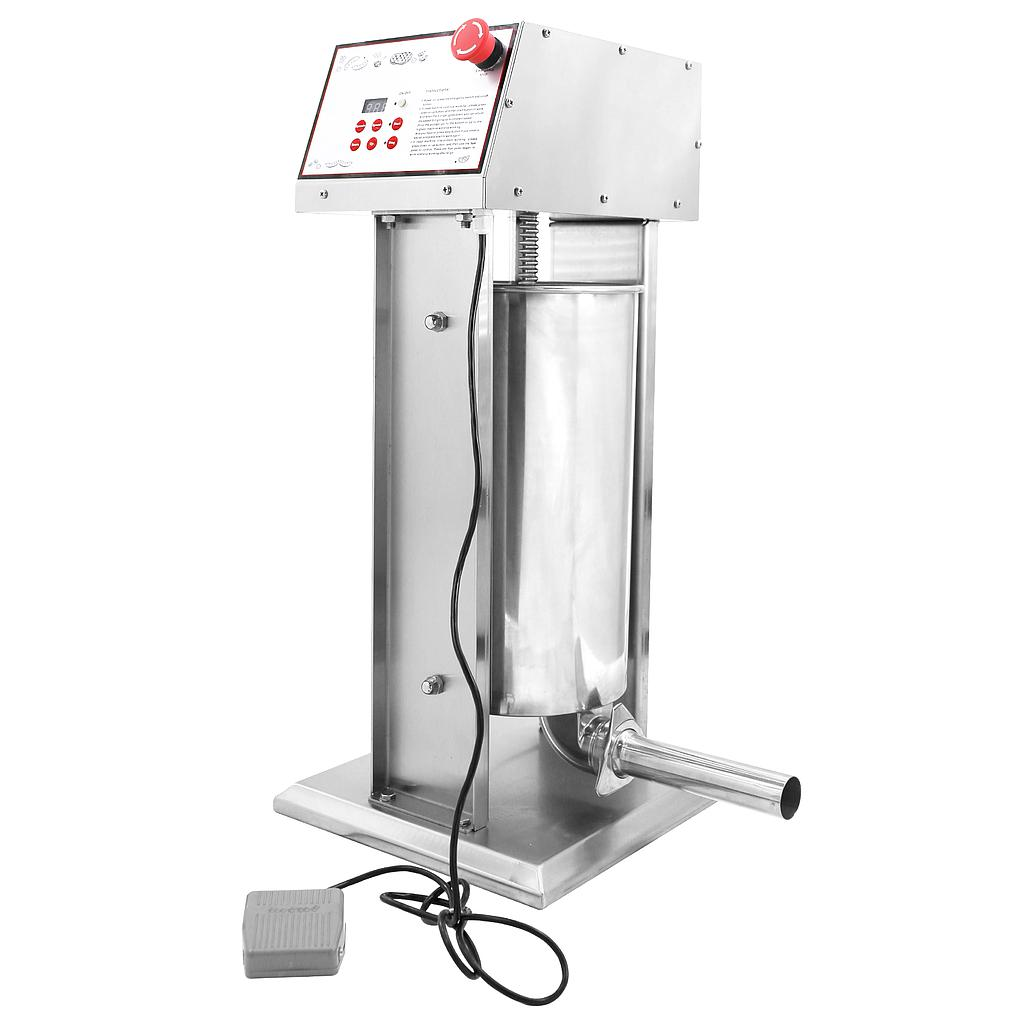 Hakka Commercial 30LB Stainless Steel Electric Sausage Stuffer and Vertical Sausage Maker
