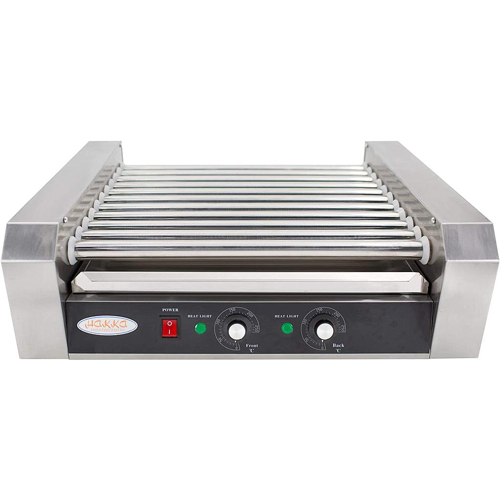 Hakka Commercial Hot Dog Roller Grill with 11 Rollers